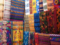 Beautiful telas from Guatemala