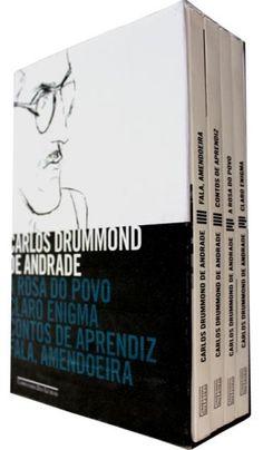 Caixa Carlos Drummond de Andrade - 4 Volumes