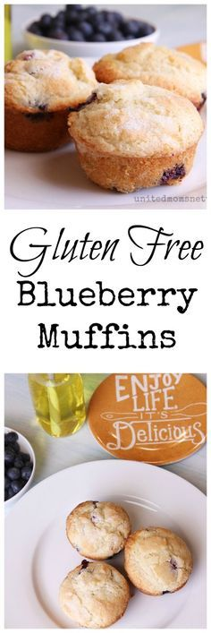 A delicious and simple gluten free blueberry muffin recipe.