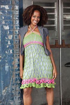 Ravelry: Webby Sundress or Skirt free pattern by Erika and Monika Simmons