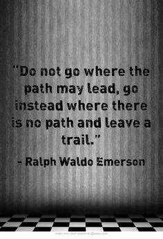 Emerson - make your own paths
