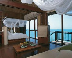 Six Senses, Samui, Thailand: This dreamy resort creates their own bio-diesel to reduce CO2, filters and recycles their wastewater and educates guests on how to help the local environment and culture through a complimentary Thai Culture Class. They also grow and serve their own organic food. http://www.hotelscombined.com/Hotel/Six_Senses_Samui.htm