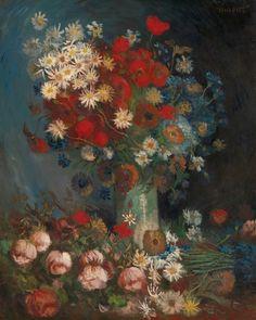 Afbeeldingsresultaat voor van gogh stilleven met akkerbloemen