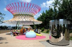 Children Park at EXPO 2015 / ZPZ Partners