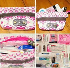 Homemade Emergency Kit For Girls In A Pinch Be Prepared Any Girl Gift Ideas Fun Fashion Bags