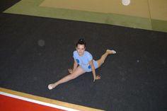 A Mariana em mais uma exibição de ginástica ritmica, Julho 2007