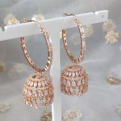 Jhumki Earrings, Cubic Zirconia Earrings, Dangle Earrings, Different Colors, Dangles, Stone, Diamond, Bracelets, Desi