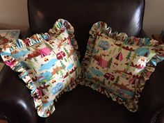 Happy campers pillows