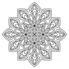Mehndi, Doodle, Coloring Pages, Colouring, Mandala Coloring, Floral, Diy Crafts, Vector Freepik, Display Ideas
