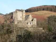 Castle Campbell. Originally known as Castle Gloom, it became one of the main keeps for Clan Campbell. The present-tower dates from around 1430 and was restored in the 20th century.