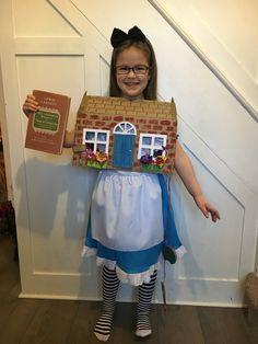 Alice In Wonderland World Book Day White Rabbits House. Fancy HousesHouse  DressWhite RabbitsCostume ...