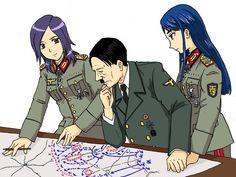 Vojna a sex Hentai
