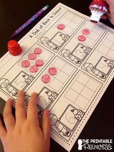 Using Bingo Dabbers in the Classroom FREEBIE