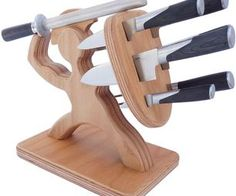 Knife Block.