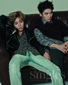 Teen Top's Niel and Ricky