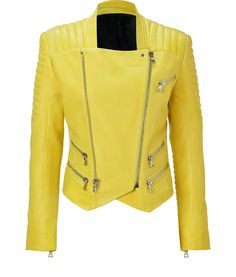 61fbc6caa17 Shop Women s Balmain Leather jackets on Lyst. Track over 491 Balmain  Leather jackets for stock and sale updates.
