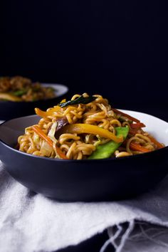 Teriyaki Veggie & Noodle Stir-Fry   Gluten, Dairy, and Egg Free