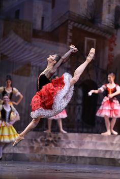 "OKSANA KARDASH  as ""Kitri"", ""Don Quixote"" Photographer  Svetlana Avvakum"