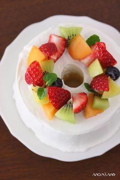 Fruits chiffon cake                                                                                                                                                                                 More