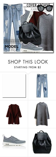 """Untitled #191"" by dianagrigoryan ❤ liked on Polyvore featuring NIKE, CÉLINE, women's clothing, women's fashion, women, female, woman, misses, juniors and beautifulhalo"