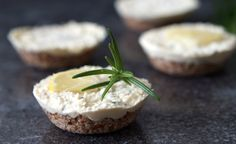Raw lemon, ginger and rosemary cheesecake  Grain free and dairy free, you'll be surprised how delicious this raw dessert is.