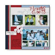 Memories Multi-photo Scrapbook Layout Page Ideas from Creative Memories #scrapbooking    http://www.creativememories.com