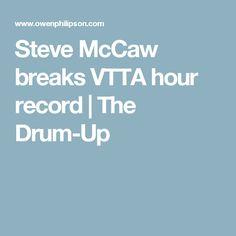 Steve McCaw breaks VTTA hour record   The Drum-Up