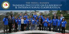 he Hansen Summer Institute Program on Leadership and International Cooperation is an amazing and inspiring international program Summer Institute, Young Leaders, Leadership Programs, All Over The World, Programming, Conference, Friendship, Foundation, Peace