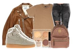 """""""Untitled #159"""" by trillqueen34 ❤ liked on Polyvore featuring Acne Studios, NIKE, Narciso Rodriguez and MCM"""