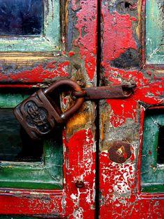 Summer Palace locked door, Beijing | by arcerminaro