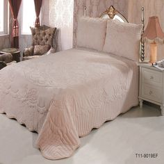 2017 hot sale 3-Pieces/Set Cotton Quilted Bedspread BedCover Bedspread coverlet Various Color for wedding gifts