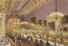 At Buckingham Palace when Queen Victoria and Prince Albert reigned.