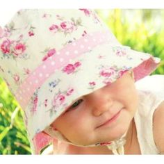 Girls Reversible Cotton Sun Hat Vintage Bucket -Pink, UPF50+ (Misc.)  http://look.bestcellphoness.com/redirector.php?p=B0073AFDBQ  B0073AFDBQ