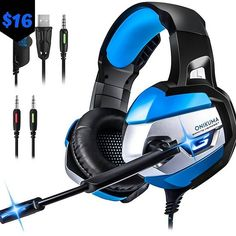 FELYBY Wired Headphone headphones Gaming Headset Noise Cancelling Headphones for PC Games Headset Headphones For Ps4, Headphone With Mic, Noise Cancelling Headphones, Gaming Headset, Wireless Headset, Xbox One Controller, Audio, Playstation, Black Xbox
