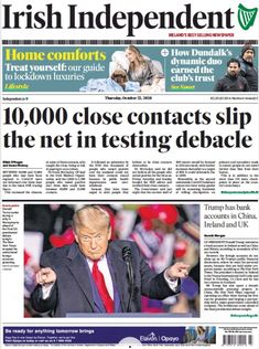 Thursday's Papers   Broadsheet.ie
