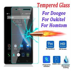 9H Premium Screen Protector Film Tempered Glass For DOOGEE X5 Max Pro X6 Y300 Y100 Homtom ht3 ht6 ht7 Oukitel K4000 K6000
