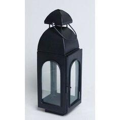 """Kindwer Metal Lantern Size: 11"""" H x 4"""" W x 3"""" D"""