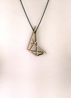 Plywood Bird Necklace // byanouk.tictail.com