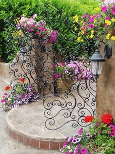 We all like a nice entry but doesn't that really start at your front gate? We say this one is both beautiful and functional. As always, this is just a sampler. You can view the full 'Garden Gates' album on our site at http://theownerbuildernetwork.co/landscaping-and-gardens/garden-gates/ We give this a 10. What do you score it?