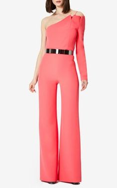 5424347e54e Adrinia Jumpsuit with Ilaria Belt by SAFiYAA Pre-Fall 2018 Safiyaa