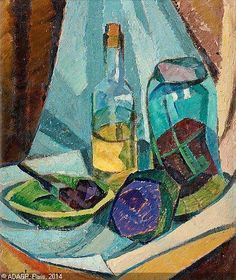 Agnes Cleve - Studie I, 1914