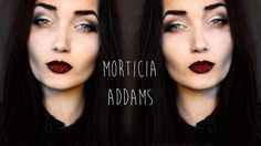 Gothic Morticia Addams Inspired Makeup Tutorial