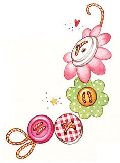 Vintage Button Bookmark Crafty Fun for Friends! - Gooseberry Patch