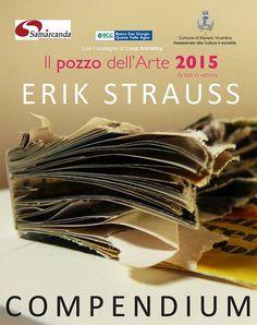 """Erik Strauss' """"Compendium"""" playbill, 2015"""