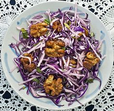 Javaholic: Red Cabbage and Jicama Imperial Salad