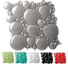 Bfs101 Bubble Series White Dove Glazzio Tiles