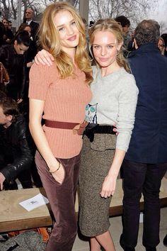 Rosie Huntington-Whiteley & Kate Bosworth