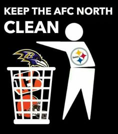 PITTSBURGH STEELERS~Throwing out the trash