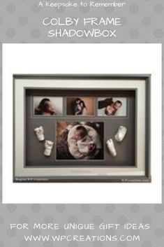 This frame gives you the opportunity to not only display adorable lifecasts with incredible detail, but also 4 of your favourite photos! This frame makes an adorable sibling frame as well. Unique Gifts For Him, Gifts For New Dads, Mother Gifts, Mothers, Presents For Her, Baby Keepsake, Grandparent Gifts, Christmas Gifts For Mom, Celtic Designs