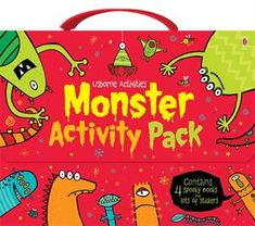 Monster Activity Pack - great for Halloween www.suesbooks.us